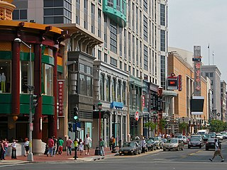 Penn Quarter Neighborhood of Washington, D.C., United States