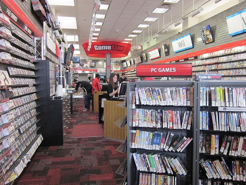 File:GameStop on Powell St., SF interior.JPG