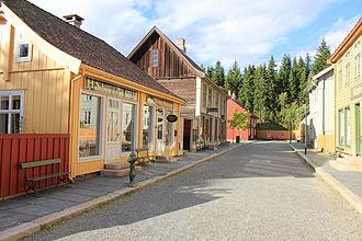 Maihaugen - Image: Gammel bygate på Maihaugen