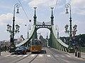 Ganz CSMG 1342 49-es villamos Szabadság híd.jpg