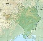 Gard department relief location map.jpg