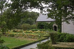 Gardens at the Old House, Adams National Historical Park, Quincy MA.jpg