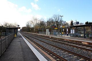 railway station in Dachstein, France