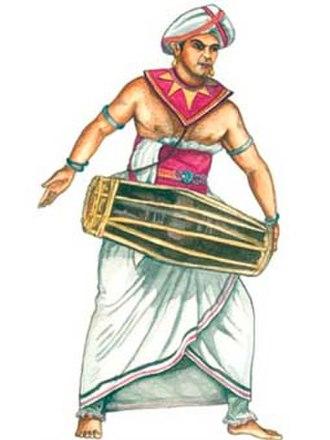 Kandyan dance - Kandyan Drummer