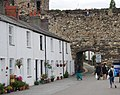 Gate in the walls, Conwy Quay - geograph.org.uk - 1479505.jpg
