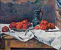 Gauguin 1883 Tomates et pot d'étain sur une table.jpg