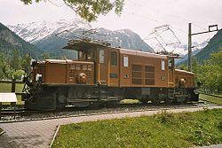 ... のGe6/6 I 形クロコダイル機関車