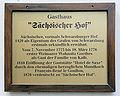 Gedenktafel Eisfeld 12 (Weimar) Sächsischer Hof.jpg