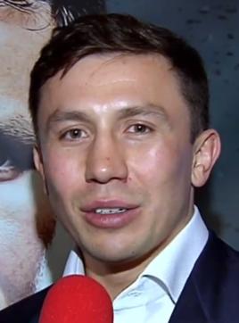 Gennady Golovkin Kazakhstani boxer