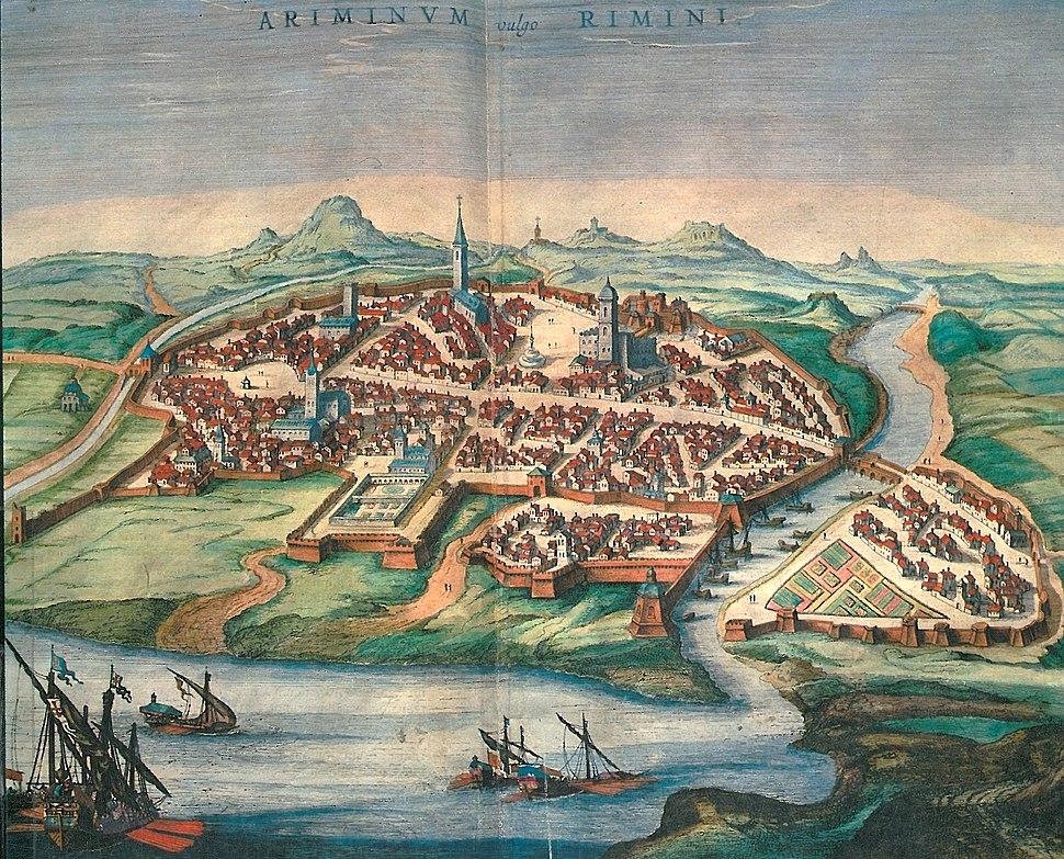 Georg Braun Rimini (1572)