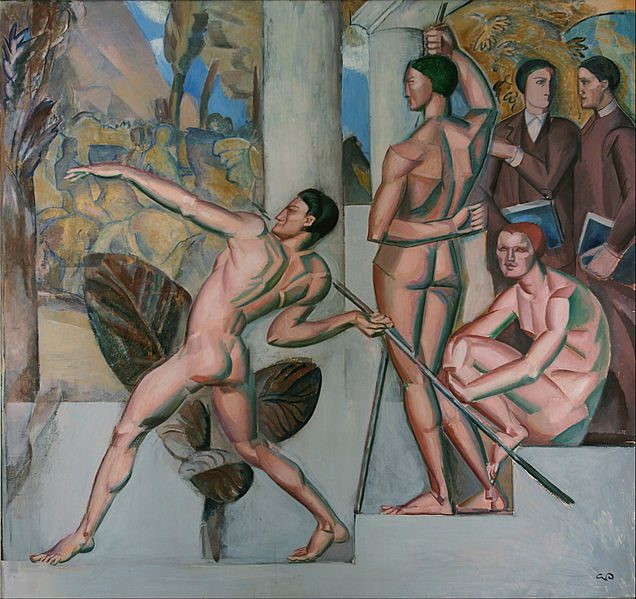 File:Georg Pauli - Mens sana in corpore sano - Google Art Project.jpg
