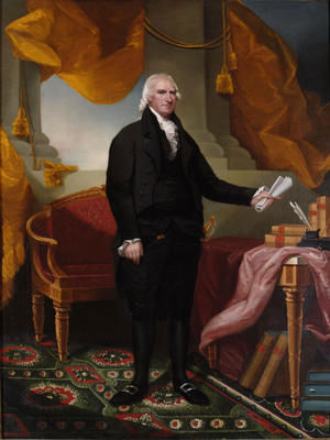 Clinton County, New York - George Clinton, namesake of Clinton County. First Governor of New York, Vice President under Thomas Jefferson and James Madison, and representative of New York in the Continental Congress