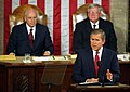 George W. Bush speaks to a Joint Session of Congress.jpg