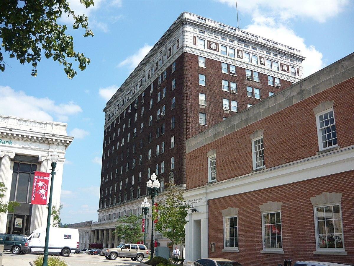 The George Washington Hotel Pennsylvania Wikipedia
