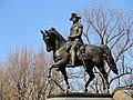 George Washington statue in the Boston Public Garden - DSC08196.JPG