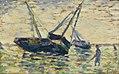 Georges Seurat - Trois bateaux et un marin PC 153.jpg