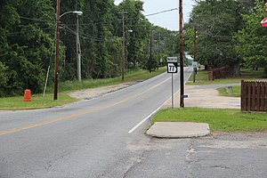 Georgia State Route 77 - Georgia State Route 77 in Siloam