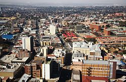 The Central Business District of Germiston