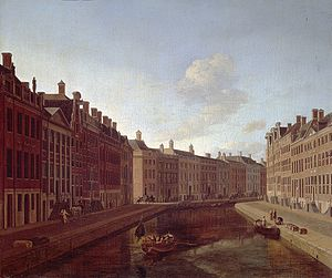 Gouden Bocht - The bend of the Herengracht in Amsterdam, 1685, Gerrit Adriaenszoon Berckheyde