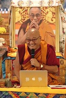 Thupten Phelgye Buddhist monk