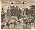 Gezicht op het Mauritshuis te Den Haag 't Huis van prins Maurits van Nassau (titel op object), RP-P-AO-12-36.jpg