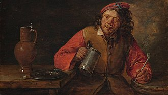 Gillis van Tilborgh - The drinker