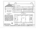 Gilman Garrison, Water and Clifford Streets, Exeter, Rockingham County, NH HABS NH,8-EX,2- (sheet 2 of 38).png