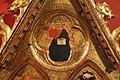 Giottino (attr.), madonna in trono col bambino e crocifissione, 1348-49, da s.m. nuova, fi (museo accademia) 02.jpg