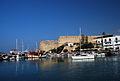 Girne Festung vom Hafen aus.jpg