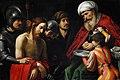 Giuseppe Vermiglio, Cristo davanti a Pilato. Oil on canvas.jpg