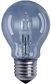úsporná žiarovka - halogenová xenonová žiarovka