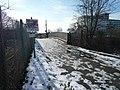 Glade Lane Foot bridge over the Brentford Branch Line - geograph.org.uk - 1165285.jpg