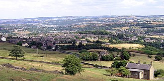 Golcar - Image: Golcar, Huddersfield(RLH)