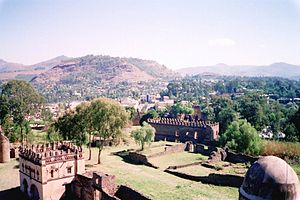 Gondar - An overview of the medieval city buildings