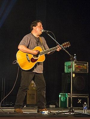 Gordie Sampson - Gordie Sampson performing at Granville Green concert series in Port Hawkesbury, Nova Scotia on Aug 9, 2015.
