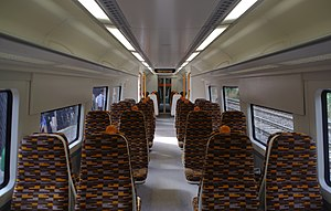 British Rail Class 172 - The interior of a London Overground Class 172/0