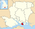 Gosport UK locator map.svg