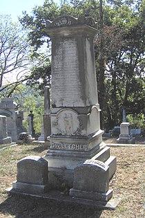 Gov Robert P Letcher gravestone.jpg