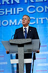 Governor of Florida Jeb Bush at Southern Republican Leadership Conference, Oklahoma City, OK May 2015 by Michael Vadon 125.jpg