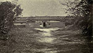 Nerbudda incident - Granary where the prisoners were held captive