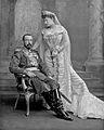 Grand Duke Michael Mikailovich of Russia and his wife.jpg