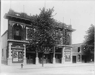 Near Northeast (Washington, D.C.) - The Apollo Theater in 1920