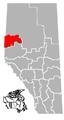 Grande Prairie, Alberta Location.png