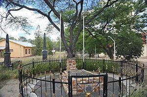 Jonker Afrikaner - Grave of Jonker Afrikaner in Okahandja (2014)