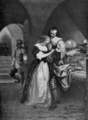 Great Men and Famous Women Volume 1 - RALEIGH PARTING FROM HIS WIFE.png