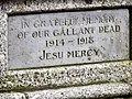 Great War Memorial (dedication) - geograph.org.uk - 2012371.jpg