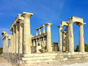 Greece-1172 Temple of Athena