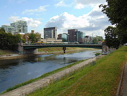 Green Bridge of Vilnius 2015.JPG