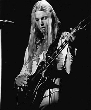 Gregg Allman - Allman performing in 1975