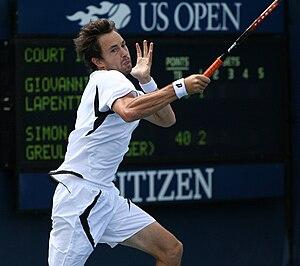 Simon Greul - Image: Greul 2009 US Open 01
